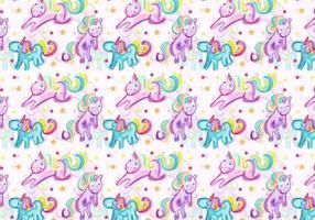 Vector Unicorn Pattern gratuito