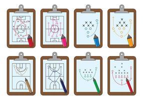 Set di vettore di Playbook