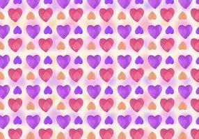 Sfondo di amore acquerello vettoriale gratuito