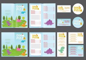 menu per bambini dinosauri