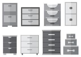 File vettoriale gratuito di file cabinet