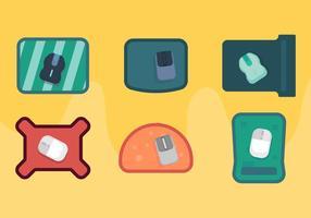 Mouse pad vettoriale gratuito 2