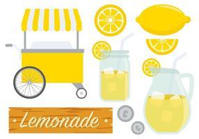 Vettore di stand limonata