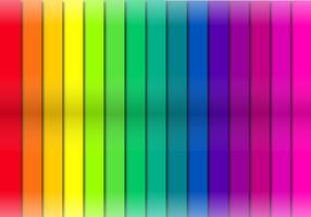 Strati di taglio del nastro a colori vettore