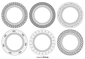 Set di cornici decorative