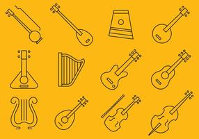 Icone dello strumento a corda