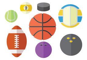Sport gratis icone vettoriali