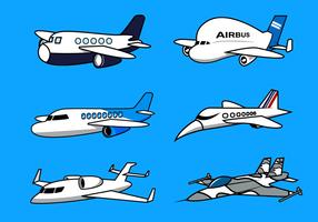 Avion Vector gratuito