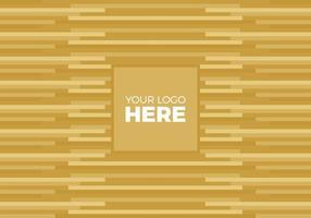 Vector Logo Gold Background