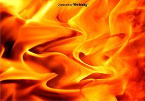 Vettore sfondo fuoco e fiamme