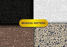 Violino Key Music Pattern vettore