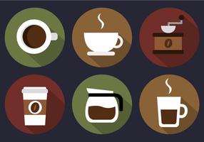 Vettore di caffè gratis