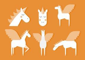 Vettore unicorno