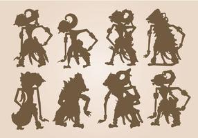 Shadow Puppet Vector gratuito