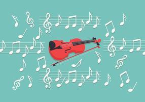 Violino chiave vettoriale