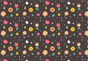 Vettore floreale senza cuciture