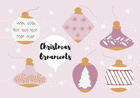 Ornametn Vector Background gratuito di Natale