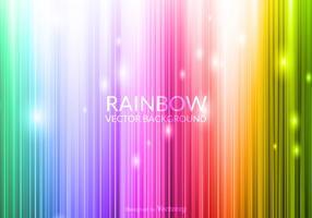 Vector incandescente sfondo arcobaleno