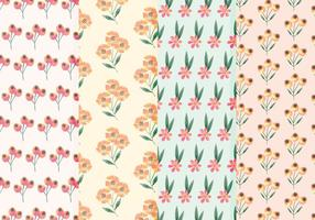 Wildflower Vector Acquerello Patterns