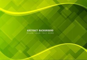 Vector astratto sfondo verde