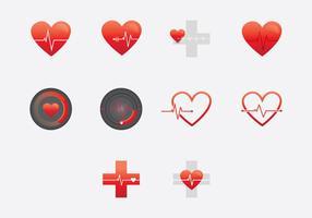 Monitor del cuore vettore