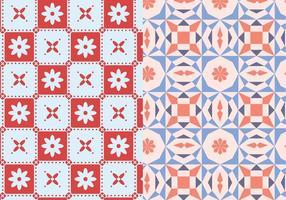 Mosaico motivo geometrico vettore