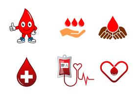 Blood Drive Vector gratuito