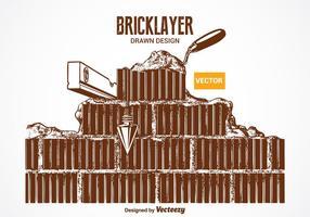 Vector Bricklayer Design gratuito