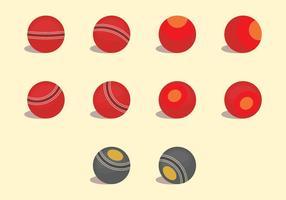Set di icone di ciotole vettore