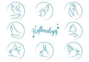 Vettore gratuito Reflexology