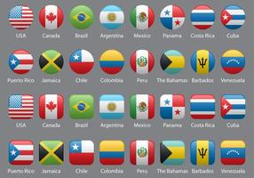 Bandiere delle Americhe
