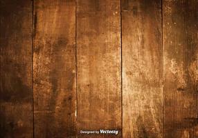 Illustrazione vettoriale di assi di legno duro