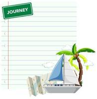 documento di viaggio di crociera
