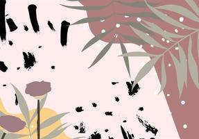 vettore di sfondo fantasia doodle