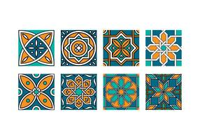 vettore di piastrelle maroc