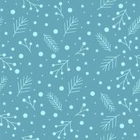 modello di Natale senza soluzione di continuità vettore