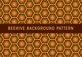 pattern di sfondo alveare vettore