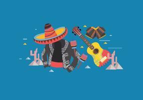 vettore mariachi