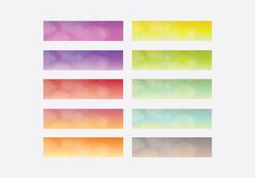 Set di modelli top gradiente lineare Webkit