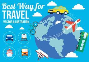 Viaggi vettoriali gratis