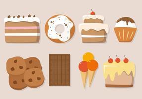 Illustrazione vettoriale di torta gratis