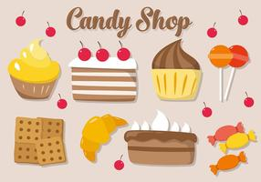 Illustrazione vettoriale di biscotto gratis