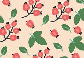Pattern di rosa canina biologica