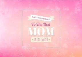 Sfondo di mamme vettoriali gratis