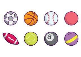 Vettore di palla sportiva
