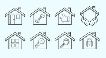 Housing Icon Vector gratuito