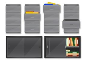 rack di file del server