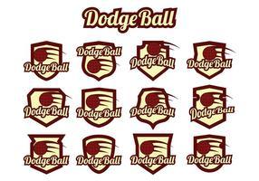 vettore di dodgeball
