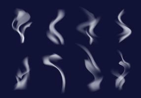 Vettore di pennello di fumo
