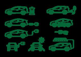 Icone dell'automobile di Prius
